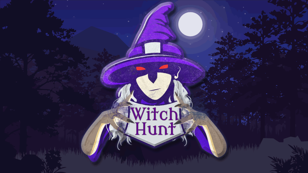 Witch Hunt - Title Screen